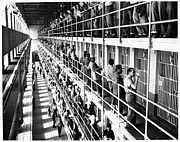 Criminal Framed Prints - Prison: San Quentin, 1954 Framed Print by Granger