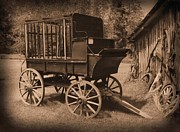 Us Marshall Prints - Prison Wagon Print by Garry Staranchuk