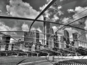 Millennium Park Prints - Pritzker facing west Print by David Bearden