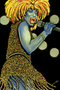 Nannette Harris Prints - private Dancer Print by Nannette Harris