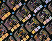 Integrated Framed Prints - Production Of Integrated Circuits Framed Print by Lawrence Berkeley National Laboratory