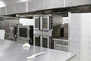 Stainless Steel Prints - Professional Kitchen Print by Andersen Ross
