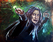 Snape Prints - Professor Snape Print by Brian Child