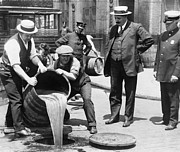 New York City Police Photos - PROHIBITION, c1921 by Granger