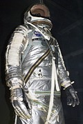 Hall Of Fame Prints - Project Mercury Spacesuit Print by Mark Williamson