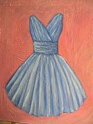 Cotillion Paintings - Prom Dress by Tara Lewis