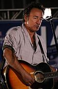Bruce Springsteen Metal Prints - Promised Land Metal Print by Brian M Lumley