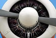 Airplane Propeller Framed Prints - Prop Framed Print by Dan Holm