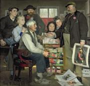 Propaganda Print by Jean Eugene Buland