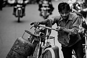 Candid Photos - Propane Deliveryman by Steven Gray