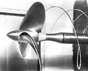 Physics Photos - Propeller Cavitation by National Physical Laboratory (c) Crown Copyright