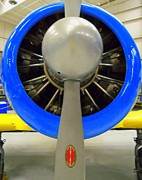 Airplane Engine Photos - Propeller by Randall Weidner
