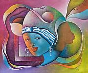 Herold Alvares Paintings - Prophetic Dream by Herold Alvares