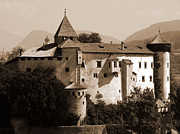Northern Italy Photos - Prosels Castle by Donna Corless