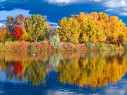Pauls Colorado Photography Prints - Prospect Lake Double Print by Paul Gana