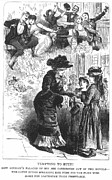 Prostitution Prints - Prostitution, 1882 Print by Granger