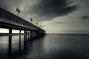 Sea Platform Framed Prints - Protaras Platform Framed Print by Christos Koudellaris