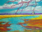 Refuge Painting Prints - Protect the Wetlands Print by Susan DeLain