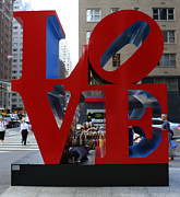 Philadelphia Photo Prints - Protected by LOVE Print by Lee Dos Santos