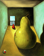 Pear Paintings - Protecting Baby 8 The Safety Gate by Leah Saulnier The Painting Maniac