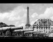 Canons Framed Prints - Protecting Paris Framed Print by Don Wolf