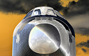 Enterprise Digital Art Metal Prints - Proud Metal Print by David Lee Thompson