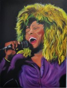 Rock And Roll Painting Originals - Proud Mary by Mitchell Todd