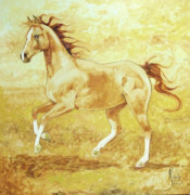 Trotting Paintings - Proud Mary by Nicole Shaw