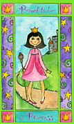 Corwin Paintings - Proud to be a Princess by Pamela  Corwin