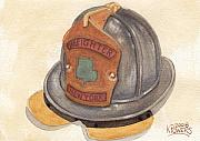 Helmet Originals - Proud To Be Irish Fire Helmet by Ken Powers