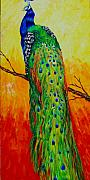 Wildlife Sculpture Prints - Proud To Be Print by Nedra Russ