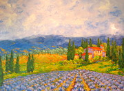 Provence Village Prints - Provence Print by Barrett Edwards