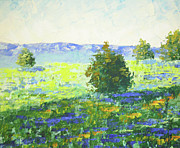 South Of France Paintings - Provence Beynes by Frederic Payet