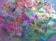 Blending Mixed Media Prints - Provence  Print by Don Wright