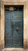 France Doors Prints - Provence Door 26 Print by Lainie Wrightson
