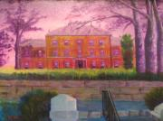 Historic Site Paintings - Province House by Marshall Desveaux