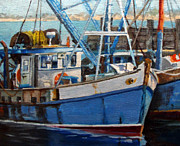 Michael McDougall - Provinctown Fishing Boats