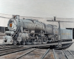 Prr M1 On Turntable Altoona Pa Print by Paul Cubeta
