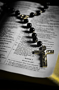 Rosary Jewelry Posters - Psalm 107 Poster by Anthony  Birchman