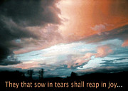 Paul Lyndon Phillips Posters - Psalm 126-  Reap in Joy  - -34021f Poster by Paul Lyndon Phillips