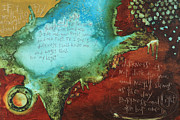 Christian Art Mixed Media - Psalm 139  by Michel  Keck