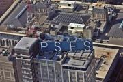 Rooftop Framed Prints - PSFS Building Framed Print by Duncan Pearson