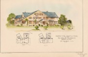 Psi Upsilon Fraternity Bowdoin College Maine  Print by John Calvin Stevens