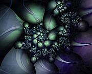 Fractal Geometry Digital Art - Psilocybin by David April