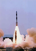 Irs Photo Posters - Pslv-c2 Space Rocket Poster by Indian Space Research Organisation