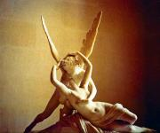 Cupid Prints - Psyche and Cupid Print by Michael Durst