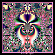 Hallucinations Art - Psychedelic Dreams Fractal 46 by Rose Santuci-Sofranko