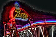 Photographers Decatur Prints - Psychedelic Zestos Print by Corky Willis Atlanta Photography