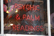 Palm Reading Posters - Psychic Reading Poster by Rdr Creative