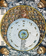 1493 Photos - Ptolemaic Universe, 1493 by Granger